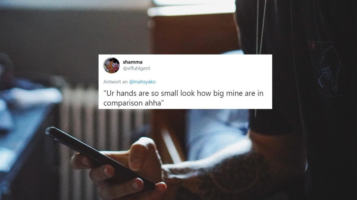 Flirten via twitter