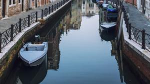 Venedig Wasser Klar