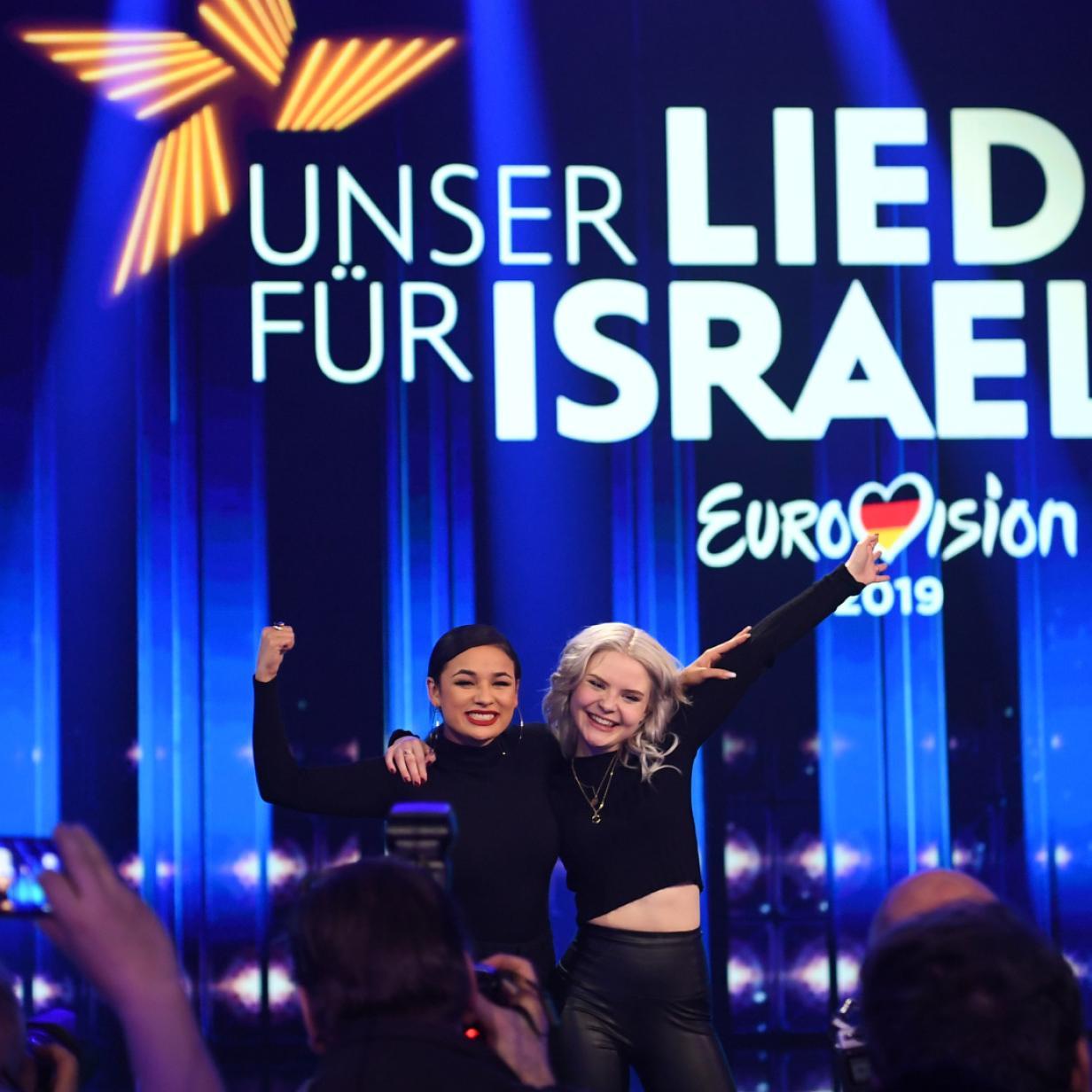 Nackt  Laurita Spinelli Eurovision 2019