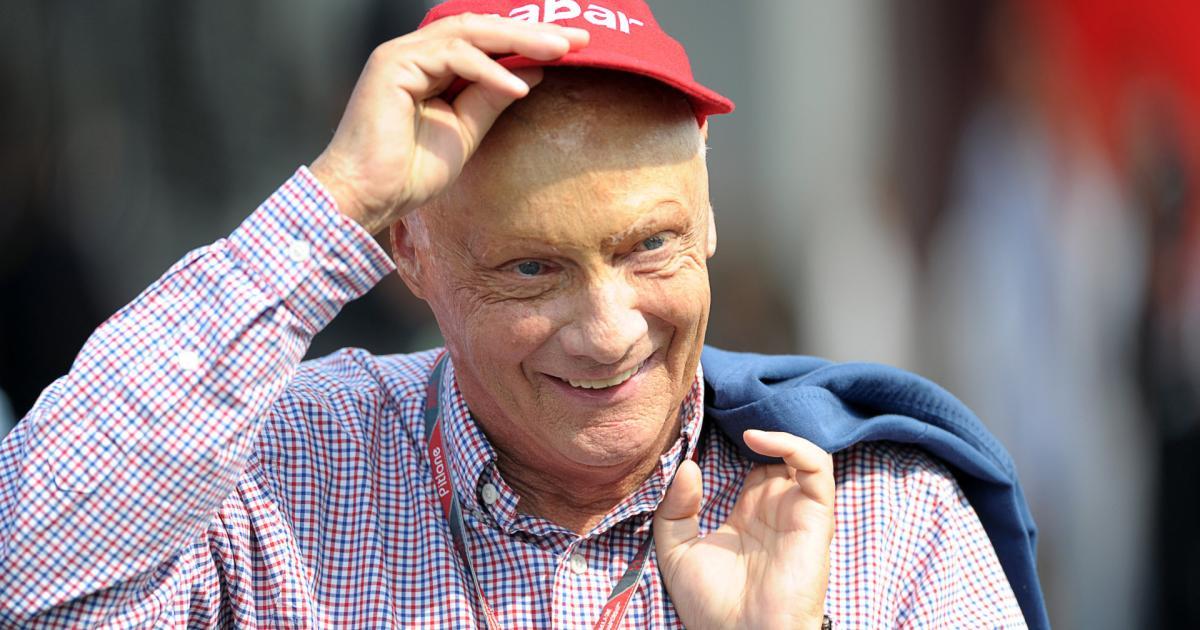 Niki Lauda Lunge