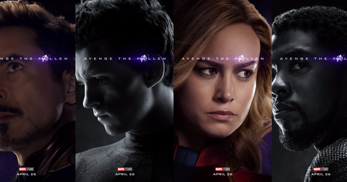 Avengers Endgame Posters Reveal Who Survived K At