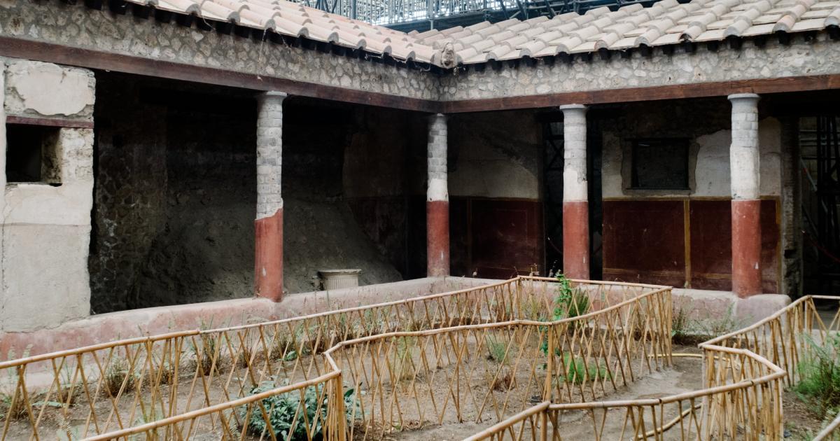"""In Pompeji wird """"Haus der Liebenden"""" wiedereröffnet"""