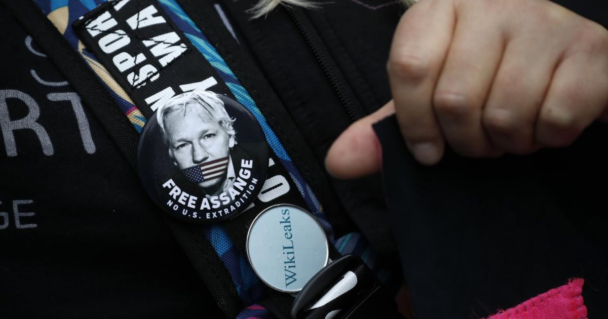 Demonstration für Wikileaks-Gründer Assange in London