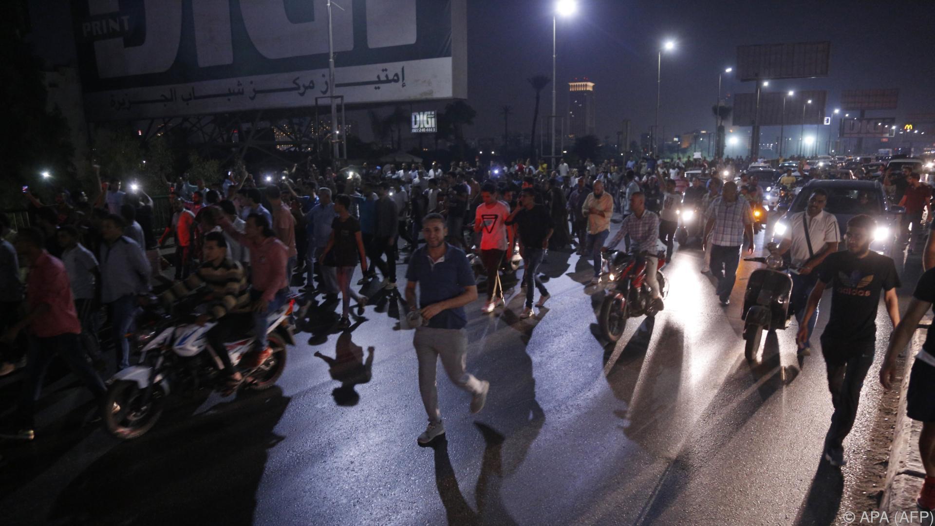 Massenfestnahmen nach Protesten in Ägypten