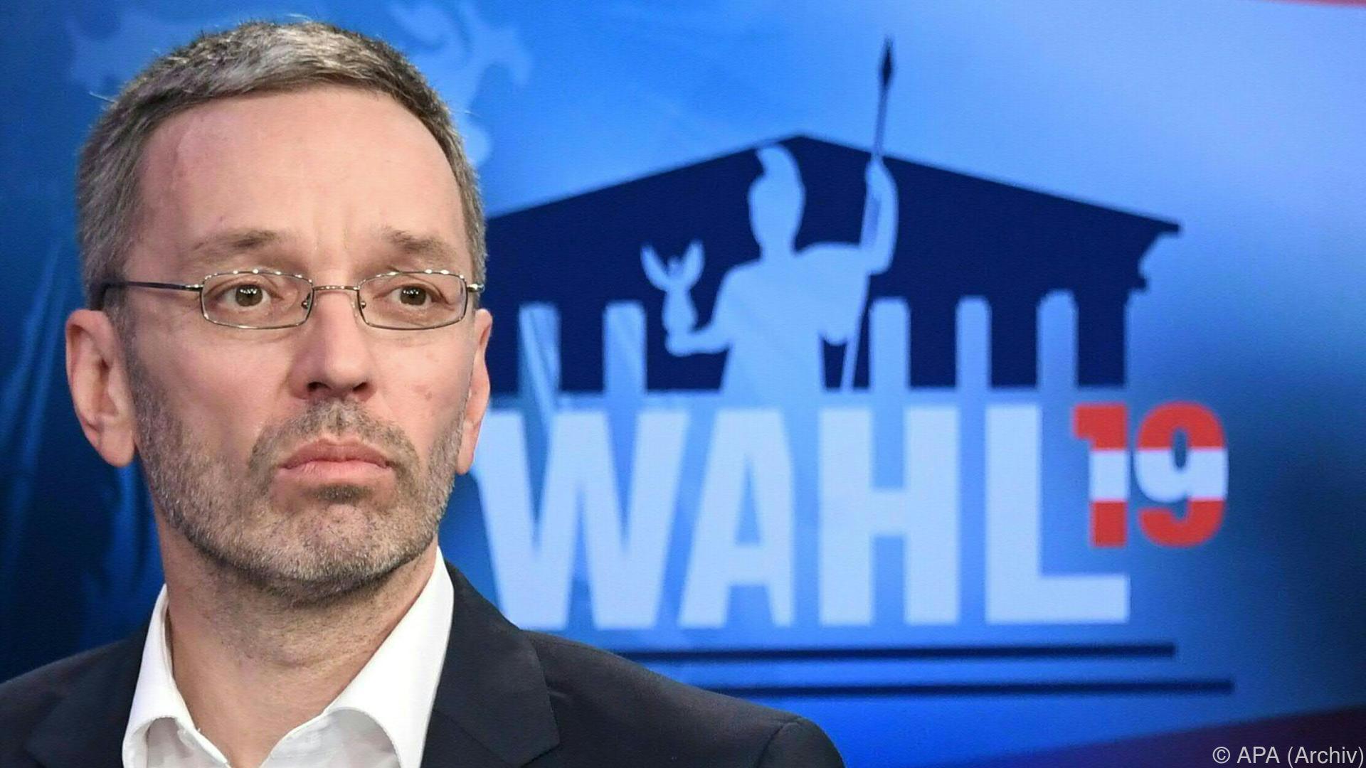 Kickl reklamiert bei Koalition Innenressort für FPÖ