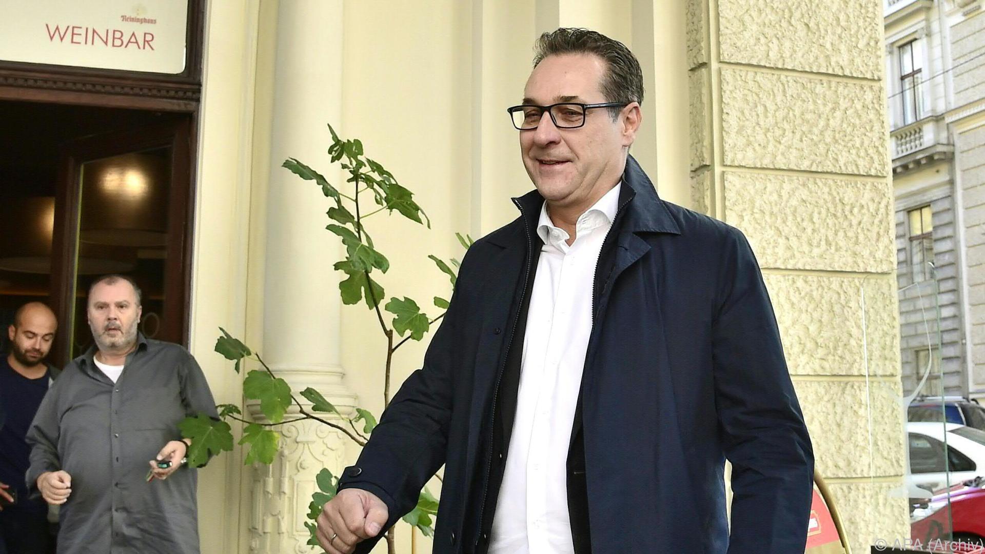 FPÖ will sich zu Straches Facebook-Seite nicht äußern