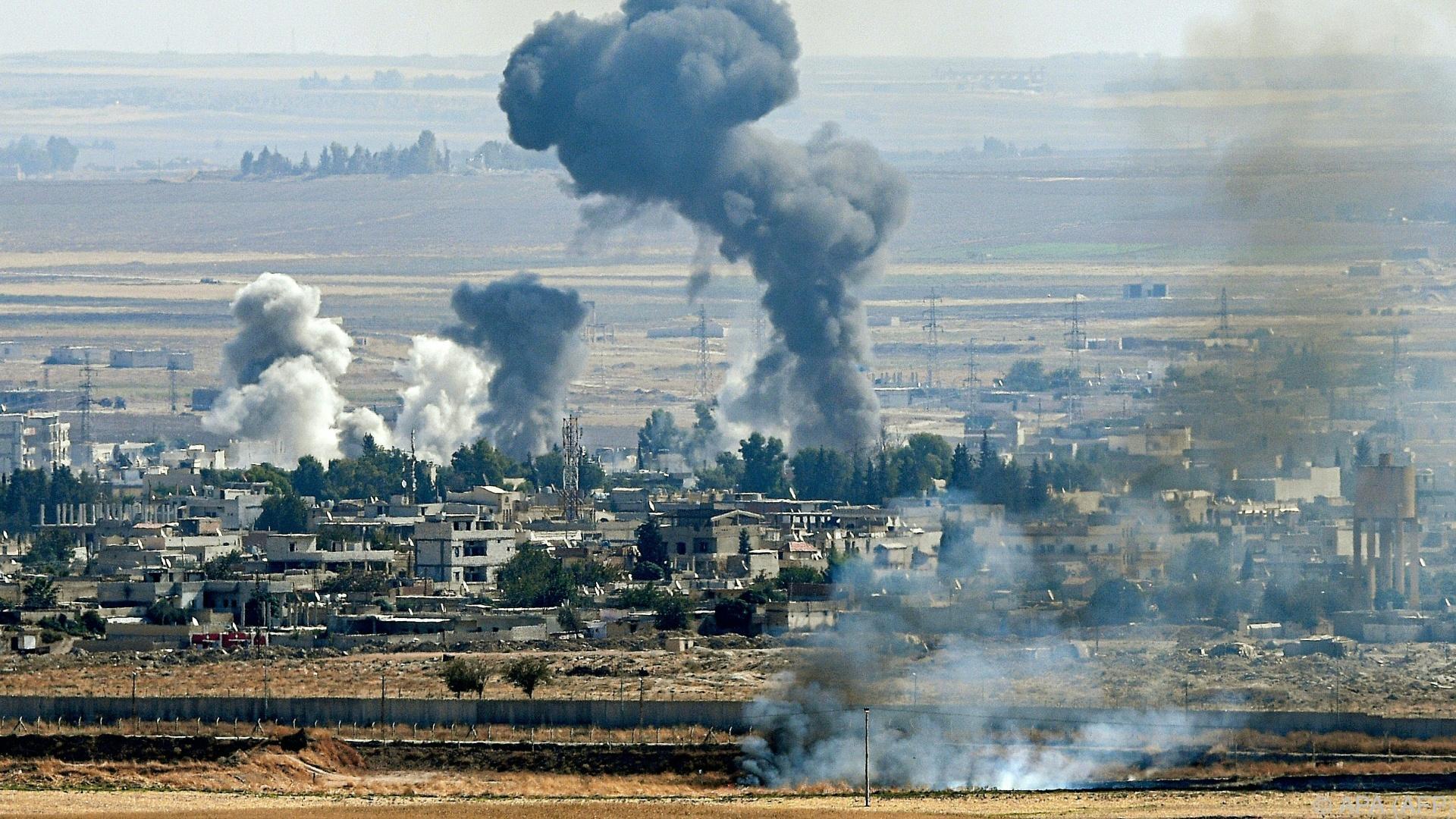 """Syrische Armee und kurdische Kräfte kämpfen """"gemeinsam"""""""