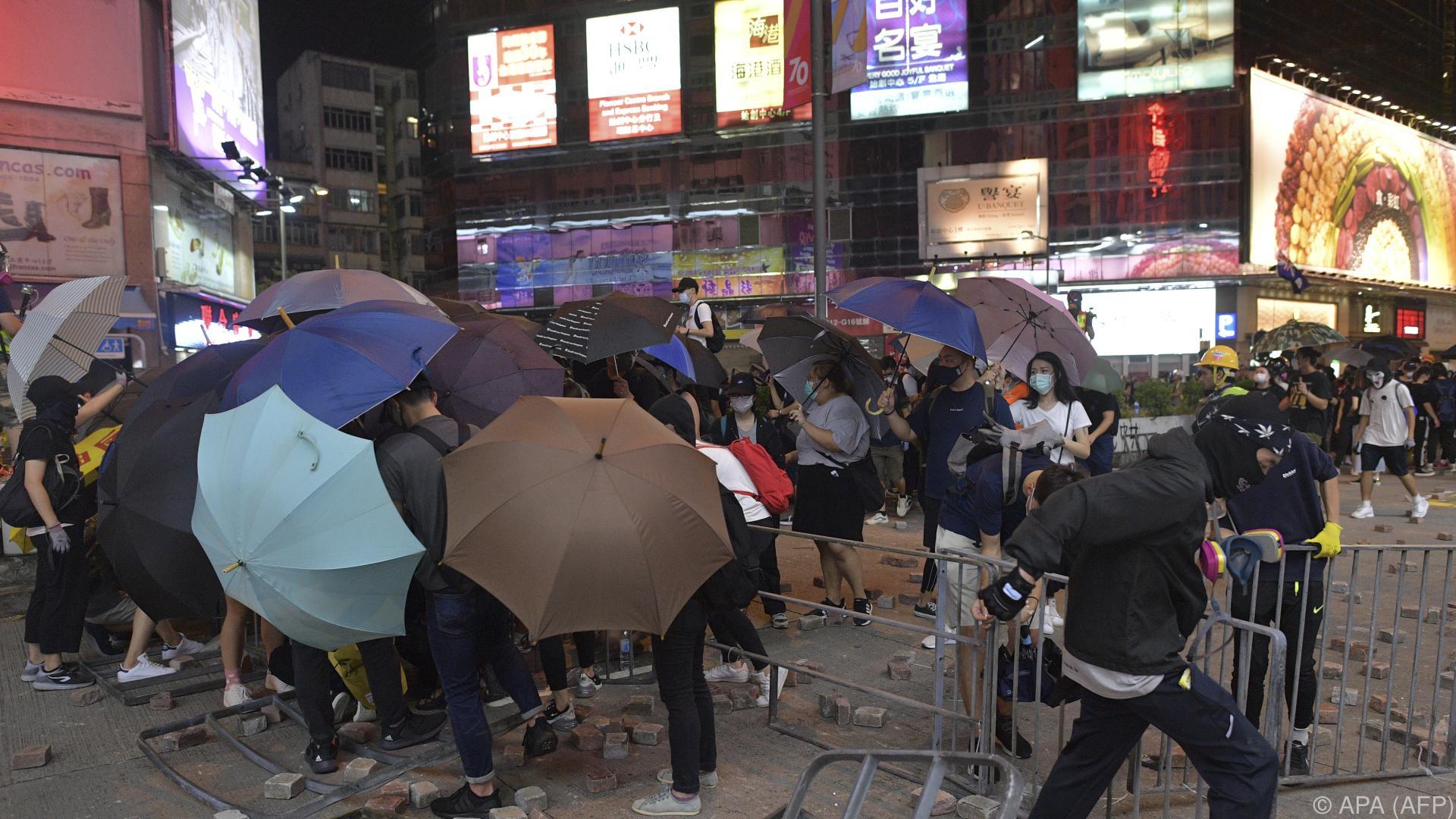 Bevölkerung Hongkongs für Friedensnobelpreis vorgeschlagen