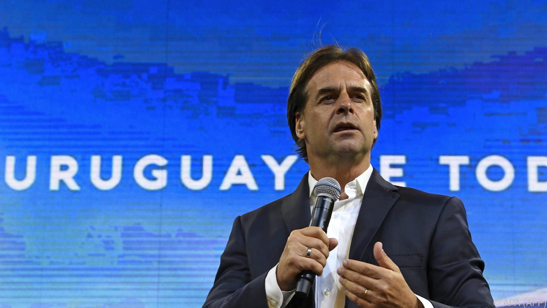 Konservativer Lacalle Pou gewann Präsidentenwahl in Uruguay