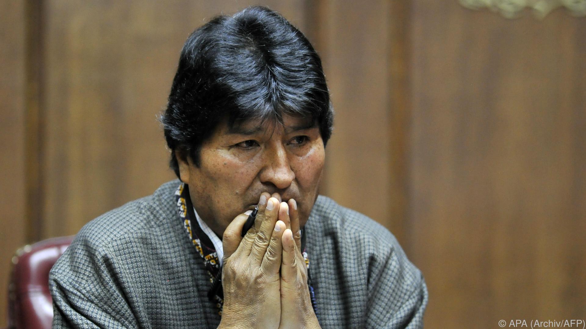"""OAS sieht """"gezielte Manipulation"""" bei Wahl in Bolivien"""