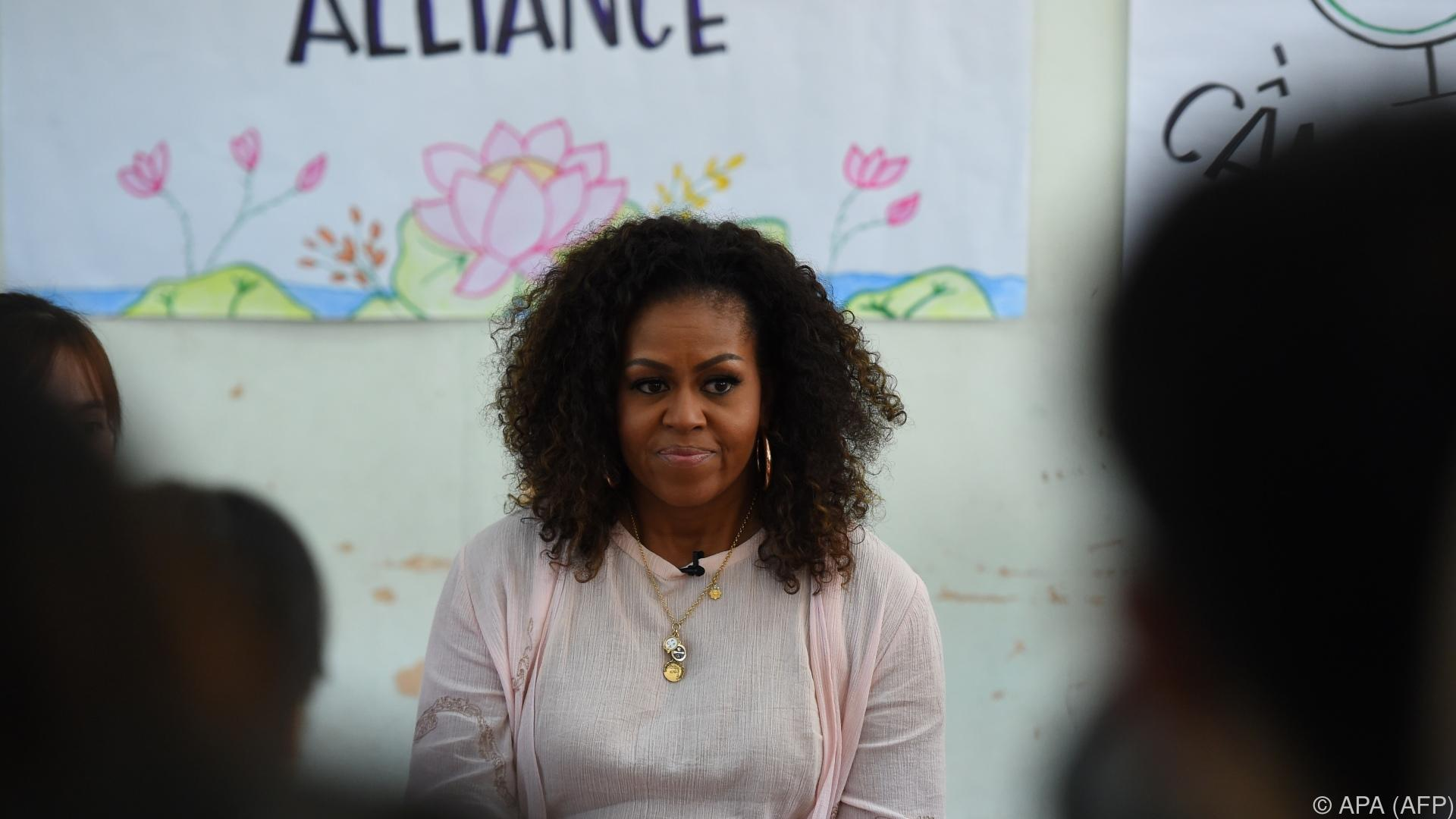 Pizza statt Gemüse: Trump kritisiert Schulkantinen-Reform von Michelle Obama