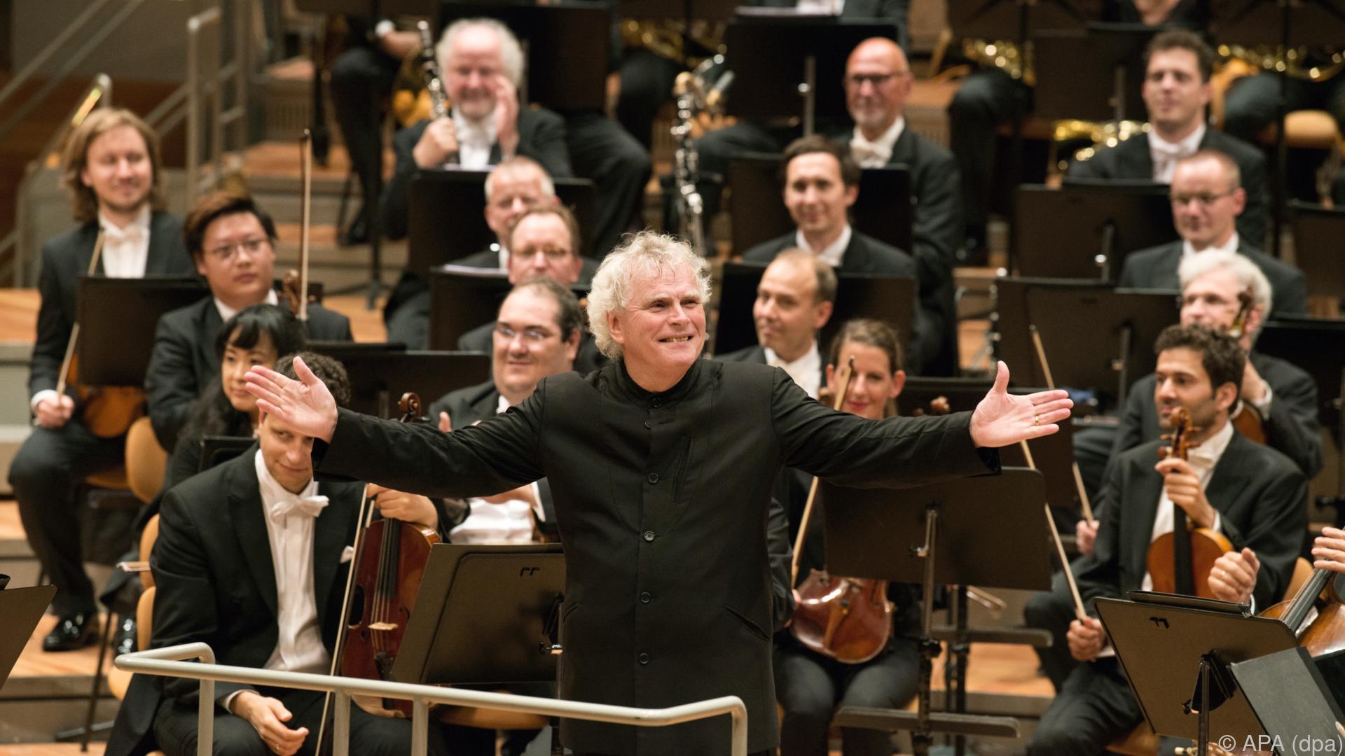 Britischer Dirigent Simon Rattle wird 65
