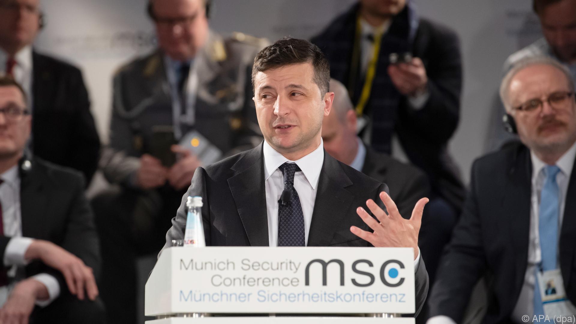 Frankreich und Ukraine hoffen weiter auf Gipfel mit Russland
