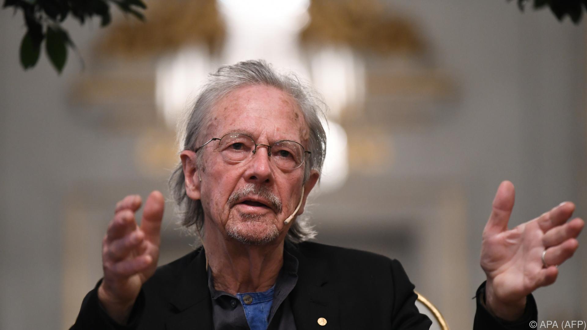 Van der Bellen gibt Essen für Nobelpreisträger Handke