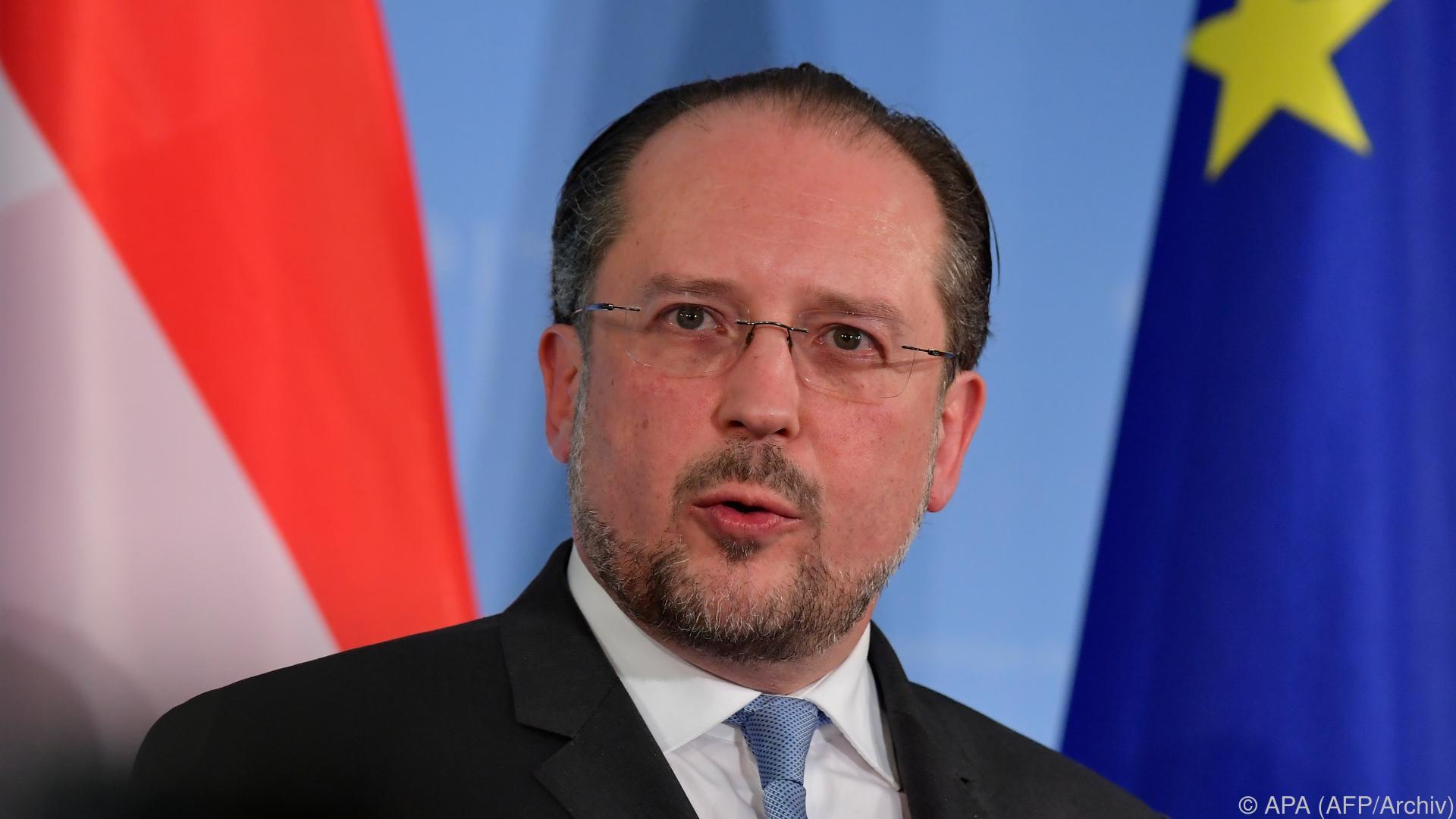 Schallenberg will im Iran für Dialog eintreten