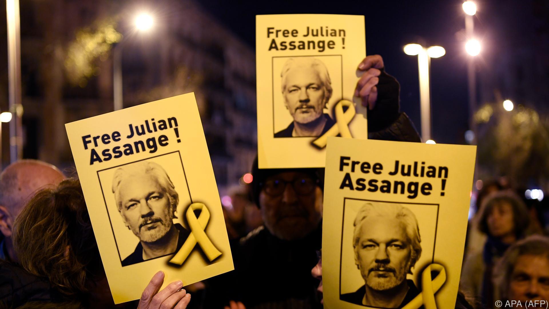 Assange hat laut Bericht zwei Kinder mit Anwältin