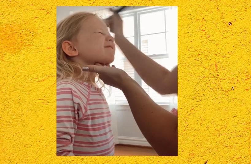 TikTok: Diese Mutter zeigt, wie man Kinder dazu bringt, Sonnencreme aufzutragen