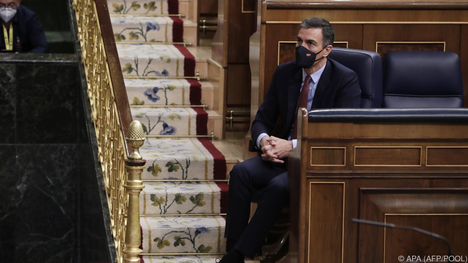Spanien: Misstrauensantrag gegen Regierungschef Sánchez
